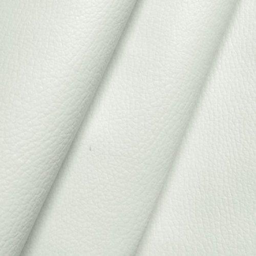 Polster PVC Kunstleder Rindsleder Optik Stoff Meterware Schnee-Weiss
