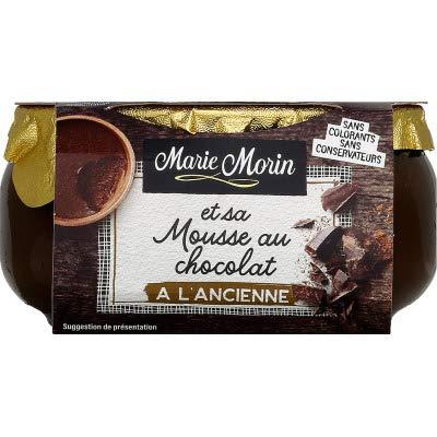 Marie Morin Mousse au Chocolat à l'Ancienne le Pot de 100 g
