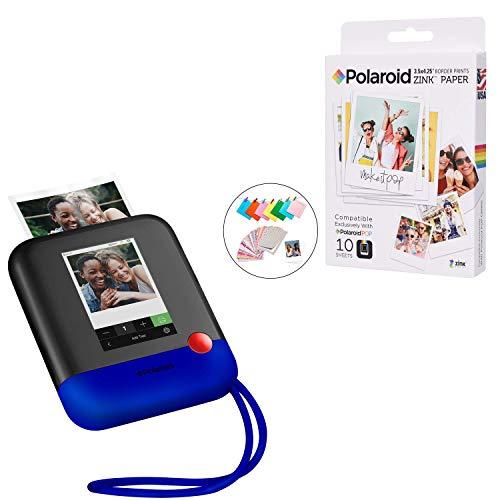 Polaroid POP 2.0 2 IN 1 Sofortdruck-Digitalkamera (Blau) Photo Booth Kit mit Zubehör