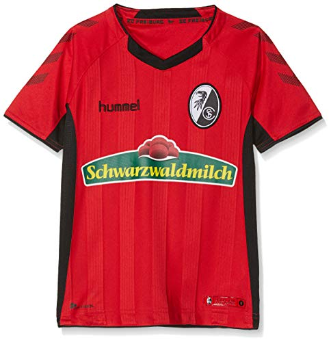 hummel Kinder SCF Home SS 18/19 Trikot, True Red/Black, 176