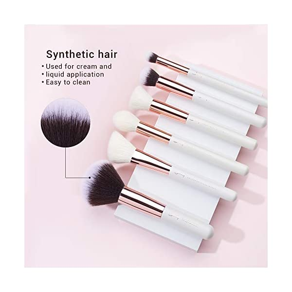 Jessup Brand 25pcs Professional Makeup Brush set Beauty Cosmetic Foundation Power Blushes eyelashes Lipstick Natural…