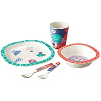 5-Piece Tommee Tippee Bamboo Toddler Dinner Set