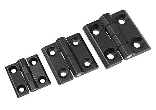 Metallscharnier Metallscharniere Scharnier Scharniere Metall Zink Maschinenbau Abmessungen 40x40mm