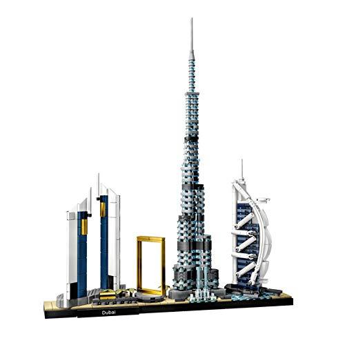 Horizonte De Dubai Modelo De Construcción 3D Tridimensional Papel Ensamblado Niños Adultos Juguete Rompecabezas Trabajos Hechos A Mano Puzzle Building (786 Piezas)