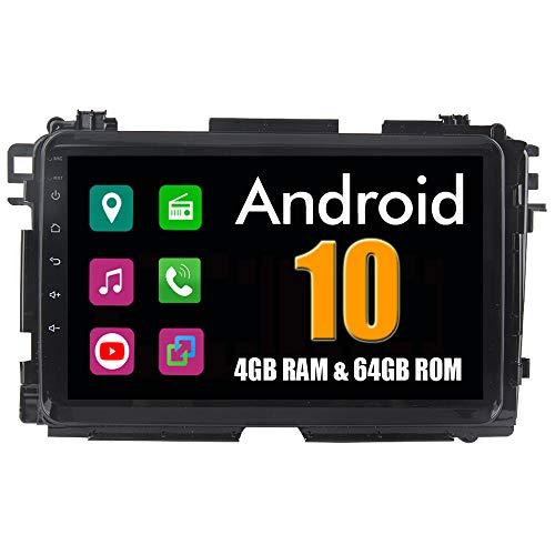 RoverOne 8 Pouces Système Android pour Honda Vezel HR-V Hrv 2014 2015 2016 2017 Lecteur multimédia de Voiture avec autoradio stéréo Radio de Navigation GPS Bluetooth Mirror Link écran Tactile