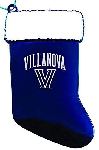 LXG, Inc. Villanova University - Chirstmas Holiday Stocking Ornament - Blue