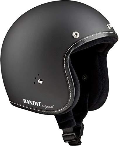 Bandit Jet Premium Line Jethelm Schwarz Matt L (59/60)