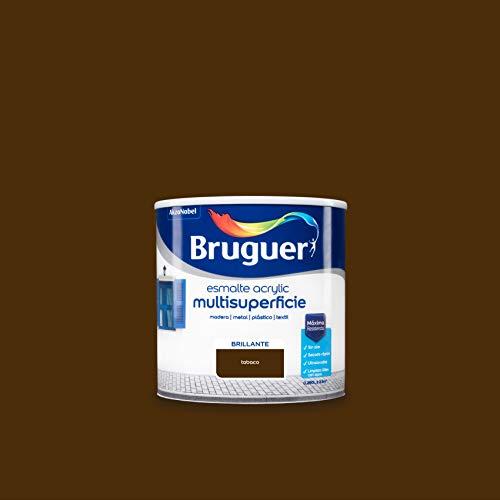 Bruguer Acrylic Multisuperficie Esmalte al agua Brillante Tabaco 250 ml