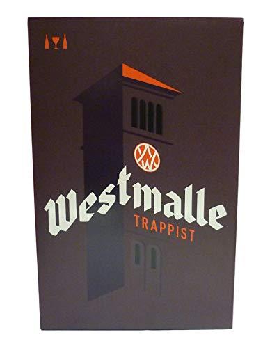 Brasserie De Westmalle - Estuche Westmalle 2*33Cl + 1 Vaso