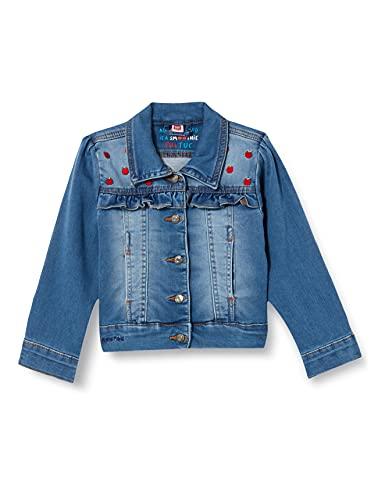 Tuc Tuc Cazadora Denim Detox Time Chaqueta de Jean, Azul, 6A para Niñas