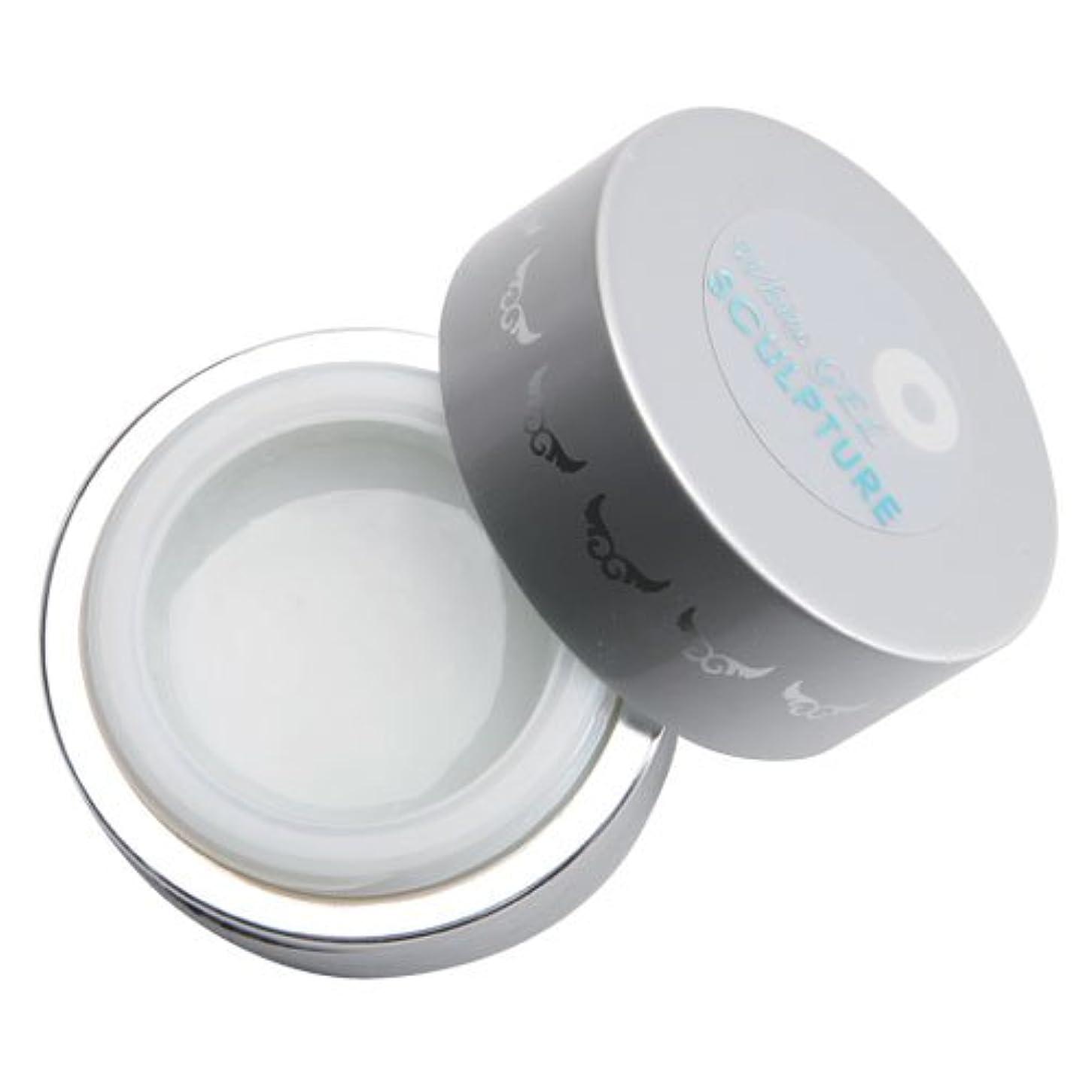 振り子テキスト獲物グラシア ジェルネイル ホワイトスカルプチュアクリアジェル GSW-A01 7g   UV対応  ソークオフ不可