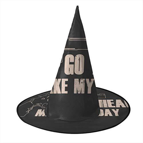 NUJSHF Sudden Impact Clint Eastwood Cita de la película Bruja Sombrero Halloween Unisex Disfraz para día Festivo Halloween Navidad Carnaval Fiesta