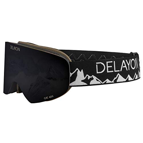 DELAYON CORE 2.0 Goggle – Tao Visier Strong Black