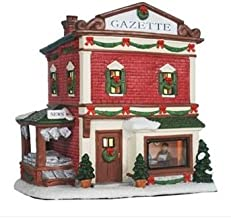 St Nicholas Square Christmas Village Collection Illuminated Gazette NEW for 2013