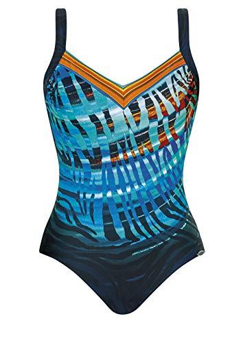 Sunflair Badeanzug 12 Shapewear Nachtblau/Multicolor 46 C