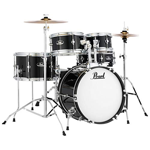 Pearl Roadshow RSJ465C/C31 Junior Drum Kit - Jet Black