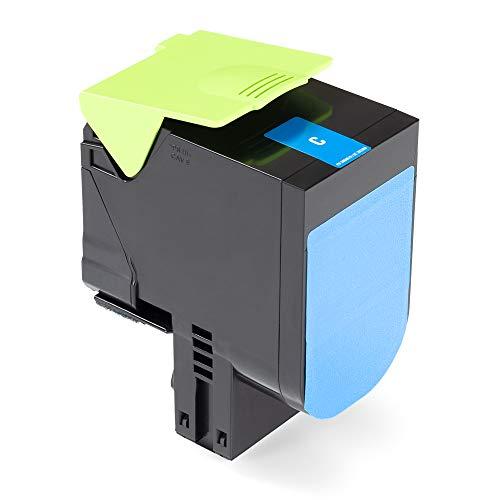 Green2Print Tóner de alto cian 2300 páginas sustituye a Lexmark C232HC0 Tóner de alto apto para la Lexmark MC2325adw, MC2325, MC2425adw, MC2425, MC2535adwe, MC2535, MC2640adwe, MC2640, C2325DW