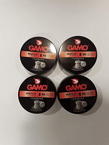 Gamo Munizioni Match Diabolo Calibro 4.5 Mm, Argento, 200101