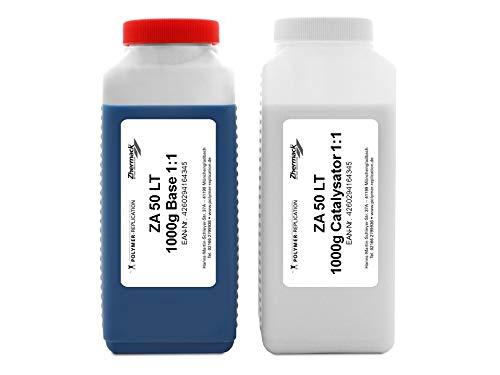 Zhermack 2K RTV Premium Silikon 2000g ZA50 LT hart blau Dubliersilikon