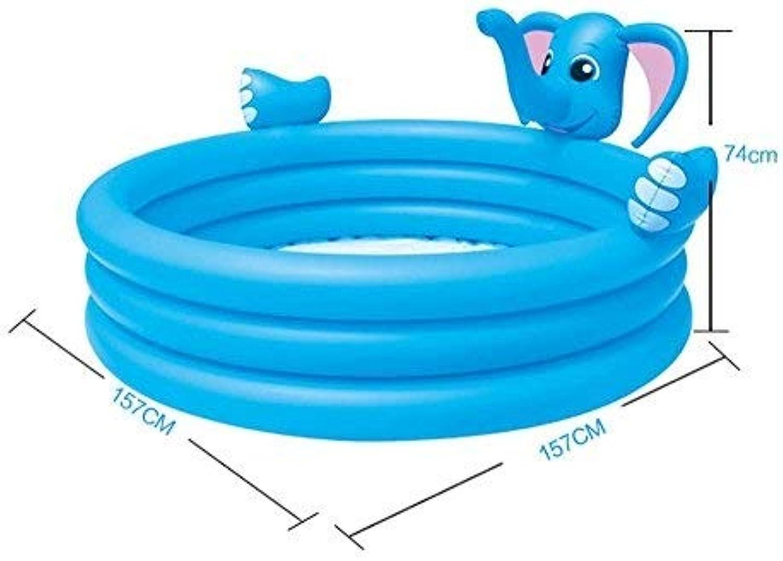 Aufblasbare Badewanne Swimmingpool Super groes erwachsenes Kinderaufblasbares Karikatur-Spiel-Pool