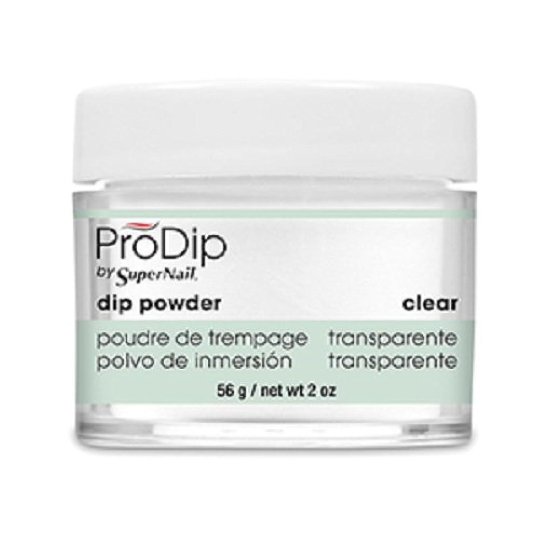 良いフレッシュしわSuperNail - ProDip - Dip Powder - Clear - 56 g/2 oz