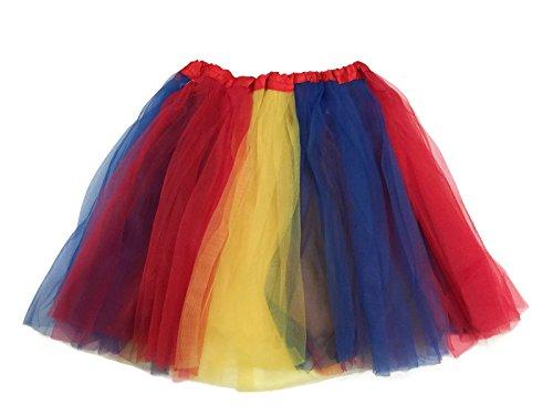 Rush Dance Multi Color Women's Plus Size Costume Ballet Warrior Dash...