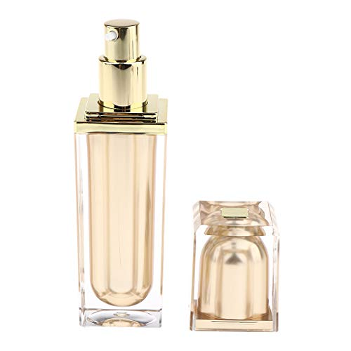 Fenteer Bouteille de Pompe à Vide de Crème Liquide Lotion de Voyage - 40 ml