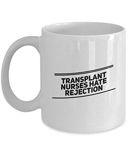 DKISEE Transplantatie Verpleegkundigen Haat Afwijzing, Verpleegkundige Witte Koffie Mok, Verpleegkundige Witte Koffie Mok, Verpleegkundigen Witte Koffie Mok, Geregistreerde Verpleegkundige 11oz Kleur: wit