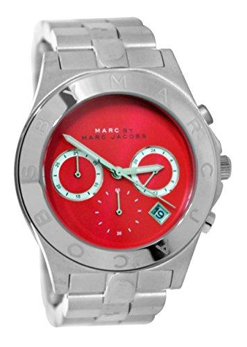 Marc Jacobs MBM3306 - Reloj para Mujeres, Correa de Acero Inoxidable Color Plateado