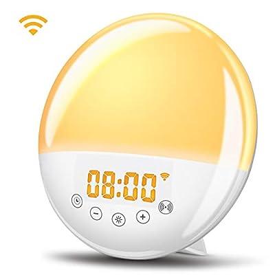Wake Up Light WiFi Sunrise Alarm Clock