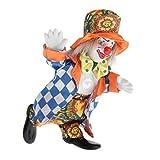 perfeclan 16cm Porzellan Clown Puppe Harlekin Puppe Mit Schönem Outfit Hut Für Kinderspielzeug,...