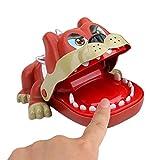 B/M Juego de Juguetes de Dientes de Perros viciosos para niños, Perros viciosos Que muerden el Dedo, Juegos de Dentista, Juguetes Divertidos, versión 2021 para niños de 4 años en adelante