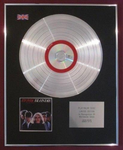 BLONDIE Platinum Disc-Atomic,The Very Best Of Blondie