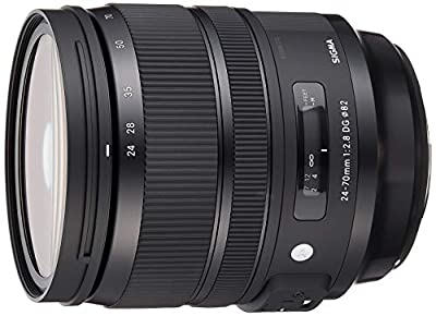 Sigma 24-70 mm F2.8 DG OS HSM Lens (Filter Thread 82 mm) for Canon Lens Bayonet Black by SIGMA
