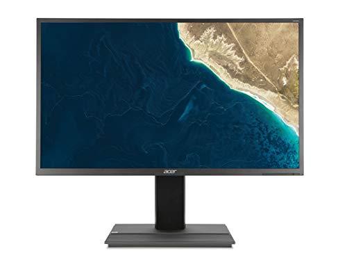 Acer B326HULymiidphz 32' LED WQHD Monitor 100M:1, 2560 x 1440, 6ms, Speakers, Displayport VGA DVI HDMI, Height Adjust