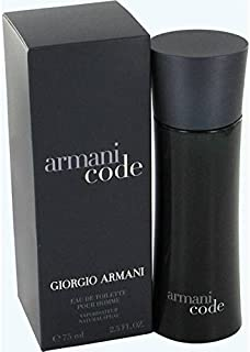 Armani Code Giorgio by Armani for Men Eau de Toilette 75ml