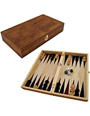 PrimoLiving P de 690 Backgammon, Color marrón