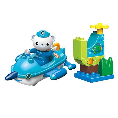 YeoMark Octonauts GUP R con Barnacles Figura de construcción de juguete para niños de 3 a 6 años