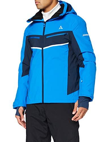 Schöffel Ski Jacket Goldegg,indigo bunting Size 50, wasser- und winddichte Skijacke, atmungsaktive Winterjacke mit Schneefang Herren