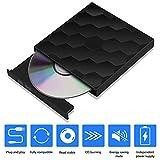 External CD/DVD Drive USB 3.0 Portable Burner Optical Drive CD+/-RW DVD +/-RW Compatible