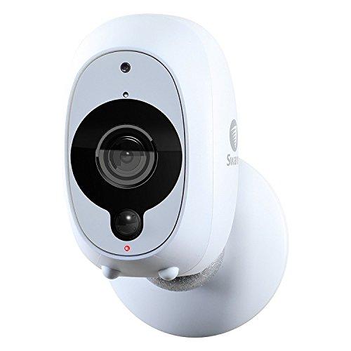 Cámara de Seguridad Inteligente de Swann: Cámara de Seguridad Inalámbrica 1080p Full HD con Sensor Térmico y de Movimiento PIR True Detect, Visión Nocturna y Audio