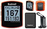 Bushnell Phantom 2 Handheld Golf GPS Power Bundle | Includes PlayBetter Portable Charger | 2021 Golf GPS Device | Built-in Magnetic Mount, 38,000+ Courses, Accurate Distances | Neon Orange
