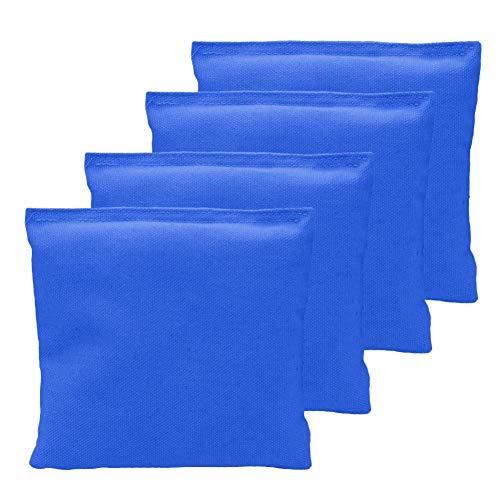 N/P Cornhole Bag, Nylon Sitzsäcke, Sitzsäcke Karnevalsspielzeug für Toss Game Sitzsäcke Sports Toss Game Sitzsack, wetterfester Standard Sitzsack für Corn Hole Game, 4 Stück