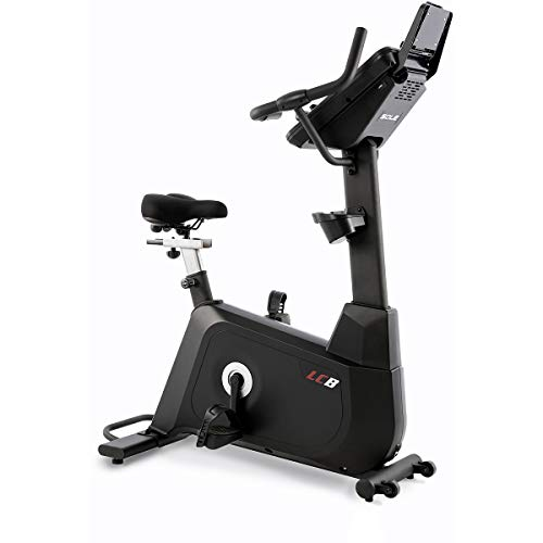 SOLE LCB Light Commercial Upright Bike with 40 Resistance Levels and Bluetooth