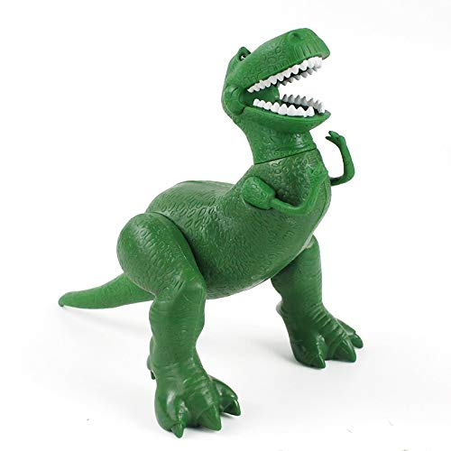Peluche Figura Toy Rex The Green Dinosaur PVC Figura De Acci