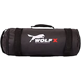 Power Cloth/Sand FILLED Bag Boxing MMA Training Fitness 5-35kg (Black) (10kg Weight)