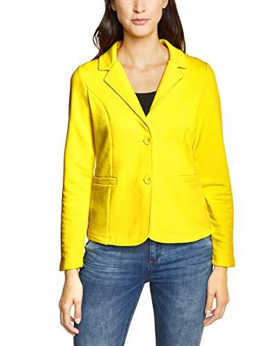 Street One 210981 Rhoda Chaqueta de Traje, Amarillo (Sunshine Yellow 11708), 48 ES/Talla de Fabricante : 46 para Mujer