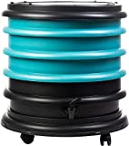 WormBox : Wormery composter 3 Turquoise Trays - 48 liters