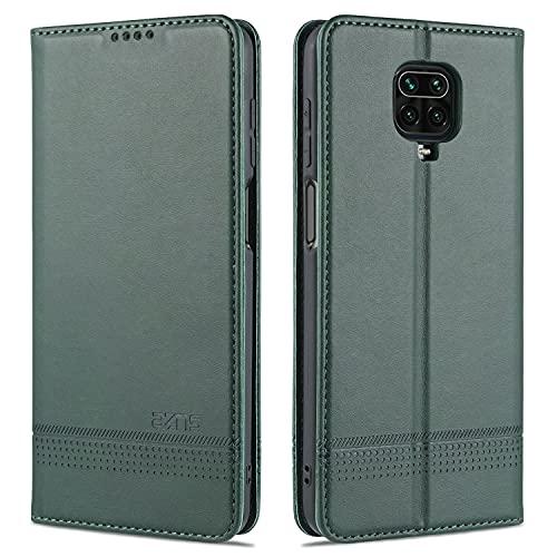 Cubierta de la caja del tirón del teléfono Para Xiaomi Redmi Note9s Funda de teléfono móvil, protector de billetera de cuero para parachoques, funda de soporte TPU, funda de ranura para tarjeta para X