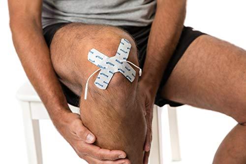 2 axion - Schmerzpunkt Elektroden-Pads für EMS-Training und TENS-Schmerztherapie
